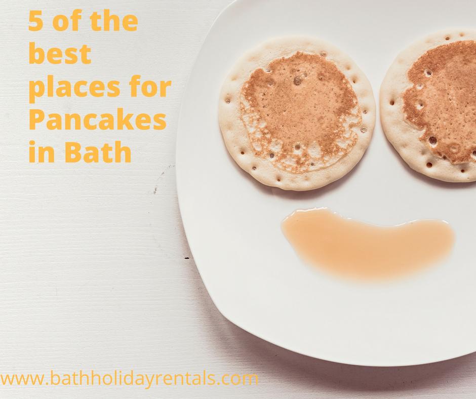 pancakes in bath