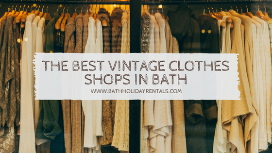 Vintage clothes shops in Bath