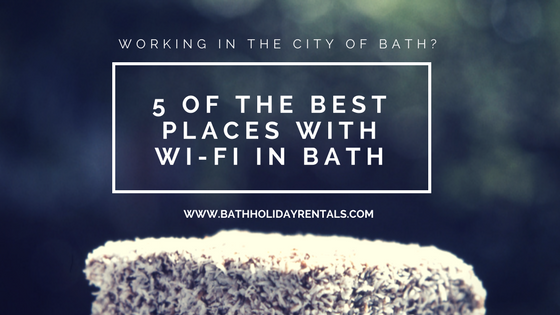 Wifi spots in Bath