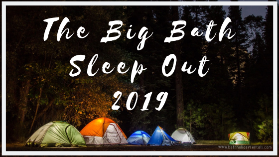 The big Bath sleep out
