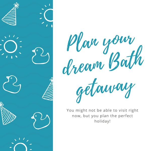 Plan your bath holiday