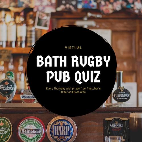 Pub quiz with Bath rugby