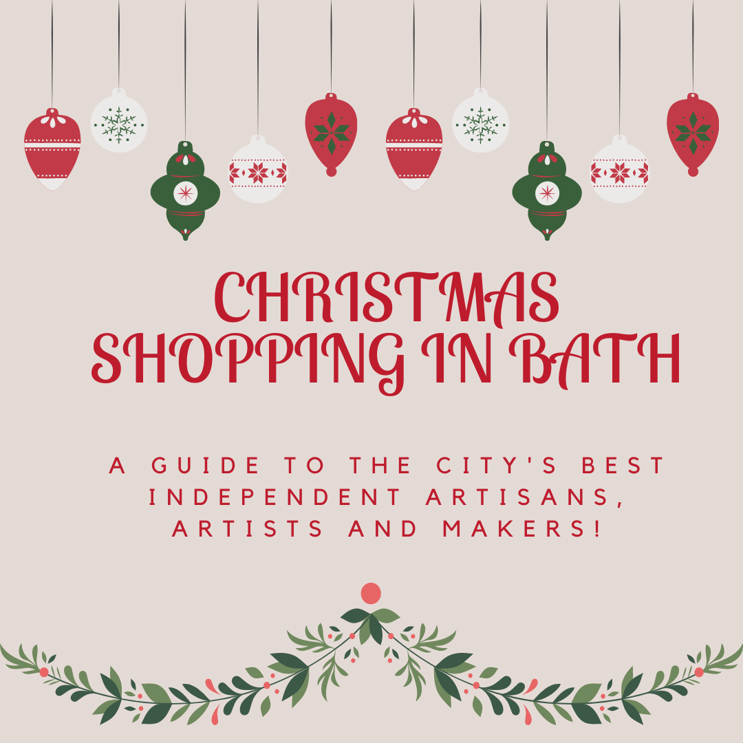 christmas shopping in bath
