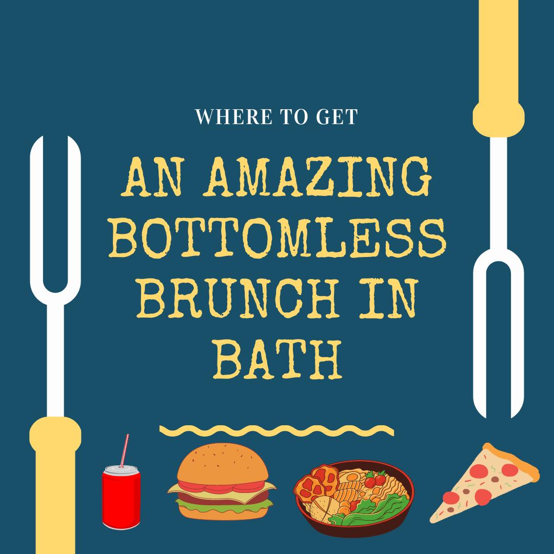 Amazing bottomless brunch in Bath