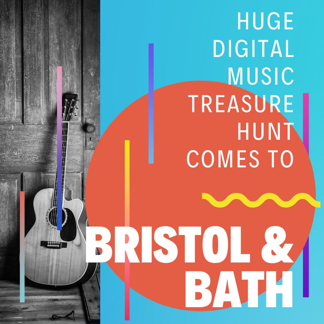 Huge digital music treasure hunt comes to Bristol and Bath
