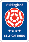 VisitEngland 4 Star Self Catering Accommodation