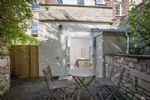 Al fresco dining in your private terraced garden