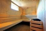 Sauna for up to 8 people.