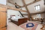Barn king bedroom with ensuite